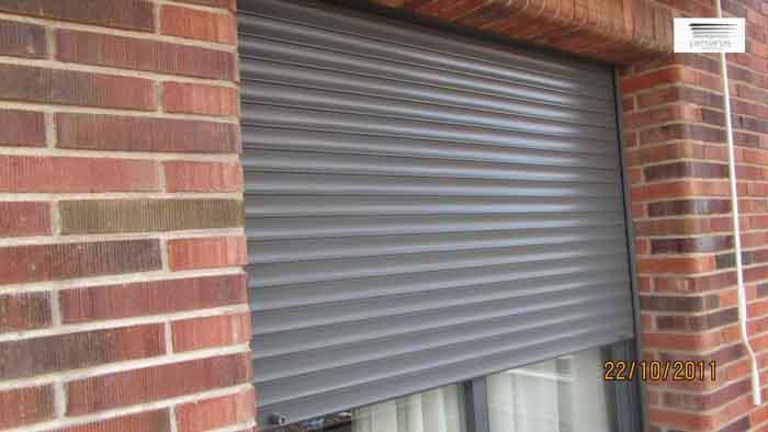Lamas de aluminio para fachadas good lamas de aluminio - Lamas persianas aluminio ...