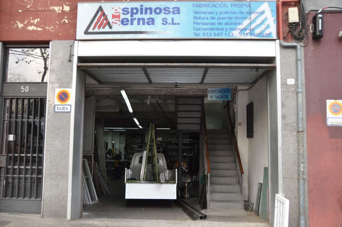 Carpinteria de aluminio barcelona espinosa for Carpinteria de aluminio precios